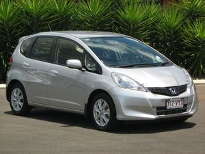 2013 Honda Jazz GE MY12 Vibe Silver 5 Speed Automatic Hatchback