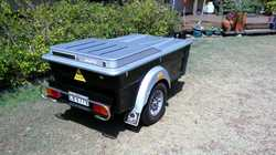 Fibreglass body, stainless steel fittings, nudge bar,  gas struts, lockable, excellent condition,reg...