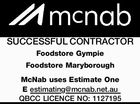 SUCCESSFUL CONTRACTOR Foodstore Gympie Foodstore Maryborough