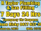 R Taylor Plumbing & Gas Fitting
