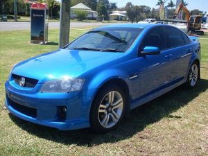 2009 Holden Commodore VE MY09.5 SV6 Blue 6 Speed Manual Sedan