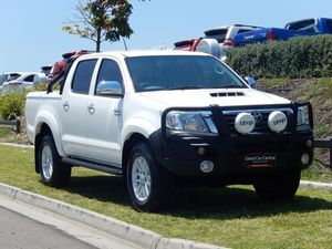 2011 Toyota Hilux KUN26R MY10 SR5 White 5 Speed Manual Utility