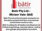 Batir Pty Ltd - Miriam Vale QAS Batir Pty