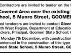 Suitably Licensed Building Contractors are invited to tender on the following project
