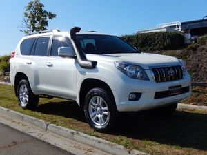 2011 Toyota Landcruiser Prado KDJ150R VX White 5 Speed Sports Automatic Wagon