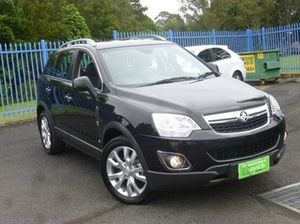 2014 Holden Captiva CG MY14 5 LTZ Black 6 Speed Sports Automatic Wagon