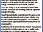Deputy Editor/ Digital Producer [Opportunities with APN] The Daily Examiner is looking for a journalist with the ability and the ambition to take on this senior role in our Grafton newsroom. In a rapidly developing newsroom environment, this role involves the best of both worlds. Reporting to the Editor, you ...