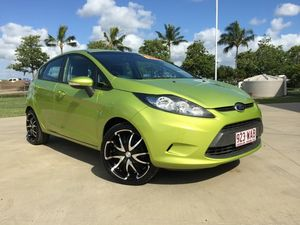 2010 Ford Fiesta WS LX Green 5 Speed Manual Hatchback