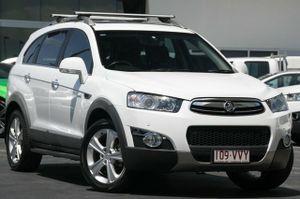 2012 Holden Captiva CG Series II MY12 White 6 Speed Sports Automatic Wagon