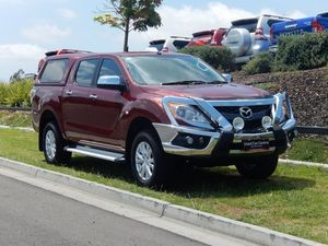 2014 Mazda BT-50 UP0YF1 XTR Red 6 Speed Sports Automatic Utility