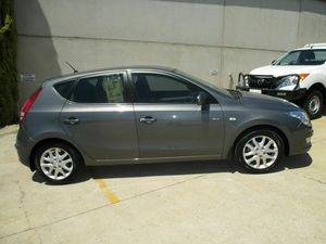 2009 Hyundai i30 FD MY09 SLX Grey 5 Speed Manual Hatchback