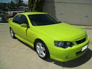 2003 Ford Falcon BA XR6 Yellow 4 Speed Sports Automatic Sedan