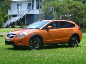 2013 Subaru XV G4-X MY13 2.0i-L Lineartronic AWD Tangerine Orange Pearl 6 Speed Constant Variable Wa