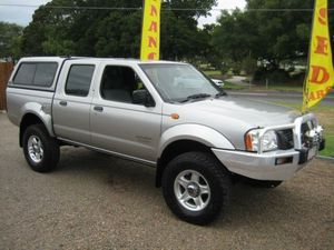 2005 Nissan Navara D22 MY2003 DX 5 Speed Manual 4x4