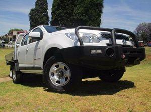 2013 Holden Colorado RG LX White 4 Speed Manual Utility