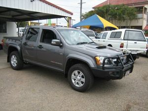 2010 Holden Colorado RC LX Crew Cab 5 Speed Manual 4x4 Crewcab