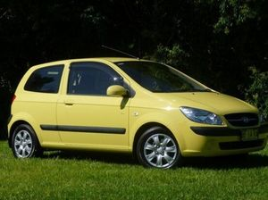 2010 Hyundai Getz TB MY09 SX Yellow 4 Speed Automatic Hatchback