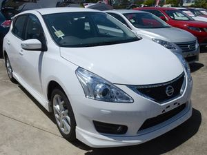 2015 Nissan Pulsar C12 Series 2 SSS Polar White 6 Speed Manual Hatchback