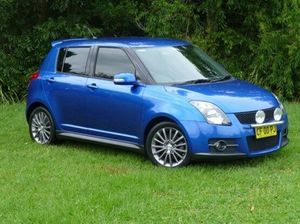 2010 Suzuki Swift RS416 Sport Blue 5 Speed Manual Hatchback
