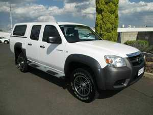 2008 Mazda BT-50 UNY0E4 DX White 5 Speed Automatic Utility