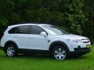 2010 Holden Captiva CG MY10 White 5 Speed Sports Automatic Wagon