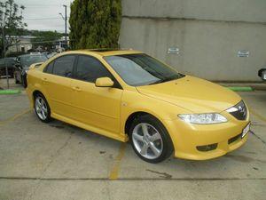 2004 Mazda 6 GG1031 MY04 Luxury Sports Yellow 5 Speed Manual Hatchback