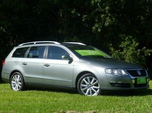 2009 Volkswagen Passat Type 3C MY09 125TDI DSG Grey 6 Speed Sports Automatic Dual Clutch Wagon
