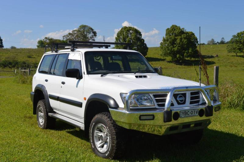 Nissan Patrol GU   Up for sale is my 2004 3.0L Turbocharged Nissan Patrol. It is a very tidy truck- Inside and out. I'm the second owner. It will be sure to impress. First to see will buy.   A little about it;   *Turbo diesel- Auto- with only 140000km on ...