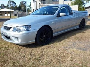 2006 Ford Falcon BF XR6 Turbo Silver 6 Speed Steptronic Utility