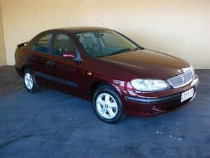 2002 Nissan Pulsar N16 ST Plus Red 5 Speed Manual Sedan