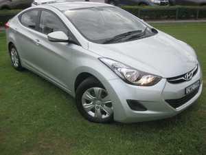 2012 Hyundai Elantra MD2 Active Silver 6 Speed Automatic Sedan
