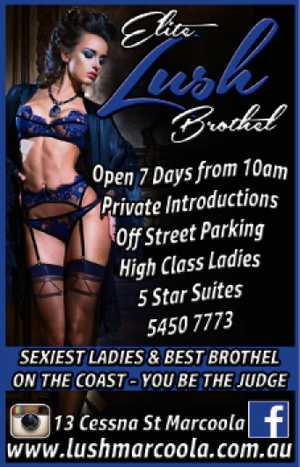 Sunshine Coast Boutique Brothel Finest Ladies, First Class Suites Private waiting rooms & Private Introductions Off street Parking