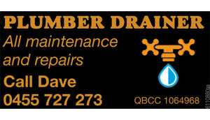 All maintenance and repairs Call Dave 0455 727 273 QBCC 1064968