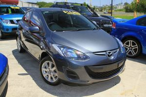 A great 4 cyl Automatic to drive!  2012 Built MY2013 Mazda 2 Maxx with just 35,000klms!  This hatchback looks great in Gunmetal Grey and has been kept in very good condition.  Our Automatic comes well equipped with Tinted Windows  We are a family owned Award winning Multi-franchise Dealership which ...