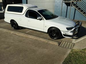 2003 Holden Commodore VY White 4 Speed Automatic Utility