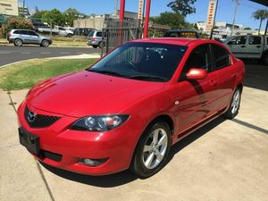 2004 Mazda 3 BK Maxx Sport Red 5 Speed Manual Sedan