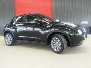 2015 Nissan Juke F15 Series 2 ST X-tronic 2WD Pearl Black 1 Speed Constant Variable Hatchback