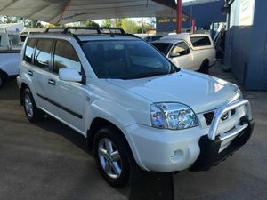 2006 Nissan X-Trail T30 MY06 ST-S X-Treme (4x4) White 5 Speed Manual Wagon