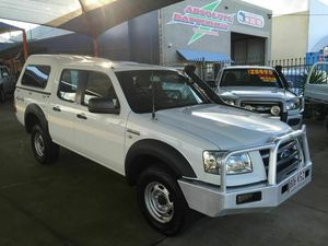 2007 Ford Ranger PJ 07 Upgrade XL (4x4) White 5 Speed Automatic Dual Cab