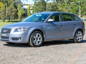 2006 Audi A3 8P Ambition Sportback Silver 6 Speed Manual Hatchback