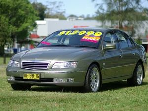 2003 Holden Statesman WK V8 Martini Grey 4 Speed Automatic Sedan