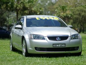 2007 Holden Calais VE MY08.5 V Silver 6 Speed Sports Automatic Sedan