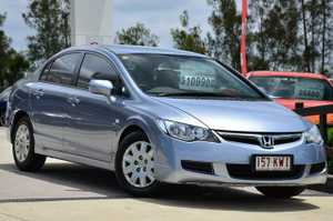 Wow What a great car. the ever popular, ever reliable honda civic auto sedan. This is a lovely car, with all the standard features you would expect, including air conditioning, cruise control, power steering and much more. Test drive today. You will not find better for the price.
