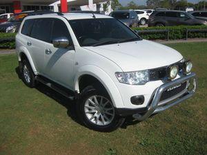 2010 Mitsubishi Challenger PB LS (5 Seat) (4x4) White 5 Speed Manual Wagon