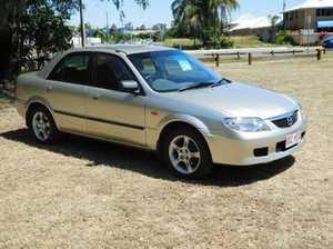 2003 Mazda 323 BJ II-J48 Protege Silver Manual Sedan