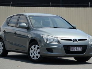 2009 Hyundai i30 FD MY09 SX Silver 4 Speed Automatic Hatchback