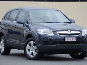 2008 Holden Captiva CG MY08 SX AWD Grey 5 Speed Manual Wagon