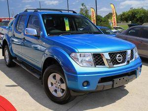 2006 Nissan Navara D40 ST-X Blue 4 Speed Automatic Dual Cab
