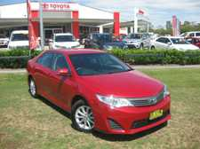 Current model TOYOTA CAMRY ALTISE still under factory warranty. The powerful 2.5 litre 4 cylinder engine and 6 speed automatic transmission ensure this is an economical family size car that is a pleasure to drive. We are a leading Multi Franchise Dealership. With a fantastic range of New and ...