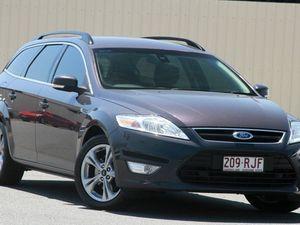 2010 Ford Mondeo MC Zetec Grey 6 Speed Sports Automatic Wagon